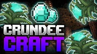 Minecraft: ALMOST DIAMOND LEVEL | CRUNDEE CRAFT
