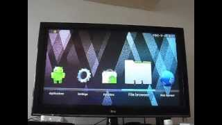 Android 4.0 network media player FULL HD 1080p 1.2 GHZ