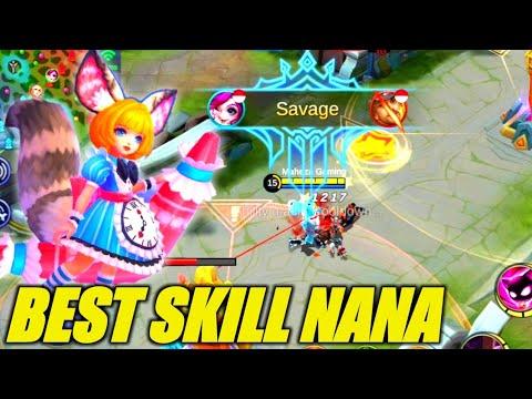 BEST SKILL NANA | Winrate 99.0% | RANK 1 GLOBAL - Mobile Legends