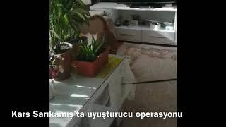 Kars Sarıkamış'ta uyuşturucu operasyonu