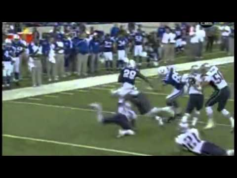Joseph Addai Highlights.