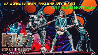 KISS London 2019 Multicam -Full Show- 07/11/2019 End Of The Road Tour