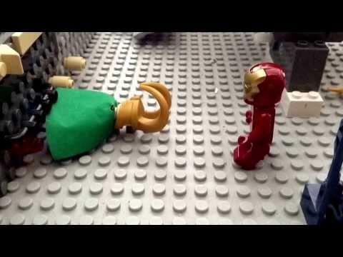 Lego Ironman Loki