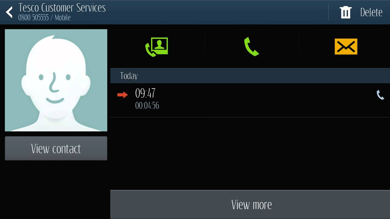 Android - How to see call duration