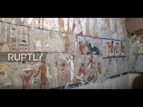 Egypt: 4,400 year-old tomb of ancient priestess found near Cairo
