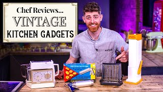 A Chef Reviews VINṪAGE Cooking Gadgets | SORTEDfood
