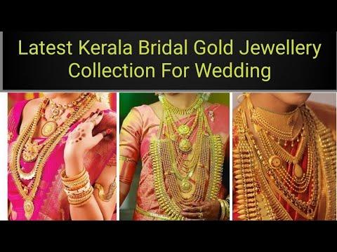 Latest Kerala Bridal wedding jewellery collections (bride, Bridal jewellery, gold jewellery, wedding