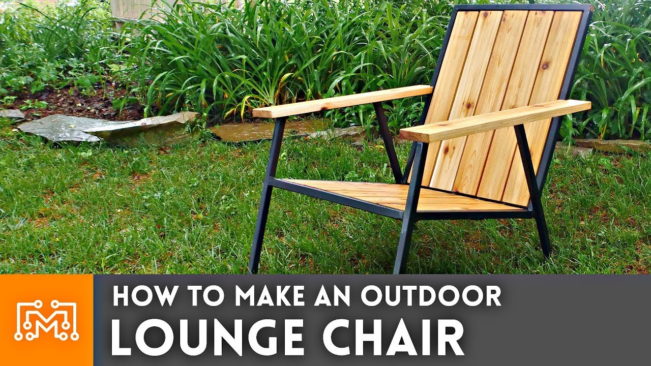 Outdoor Lounge Modern Outdoor Lounge Chair How To