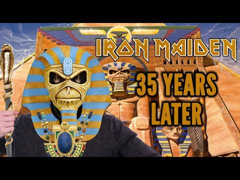 "IRON MAIDEN's ""Powerslave"" Turns 35 Years Old 
