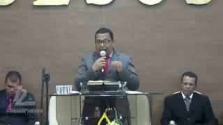 Pb Misael Ferreira - Ministração no Culto com Os Novos Convertidos - 26 02 2020 - AD Pinheiro