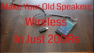 Turn Your Old Speakers Into Wireless | IN Just 150Rs.| Cheapest Bluetooth Headphones SPeakers