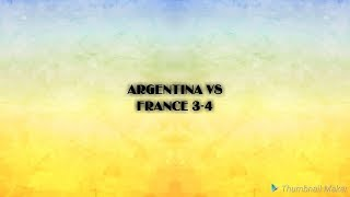WC 2018 2nd ROUND France vs Argentina 4-3 (All Goals and Extended Highlight)