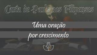 Uma oração por crescimento - Pr. Clélio Simões (30/08/2020)