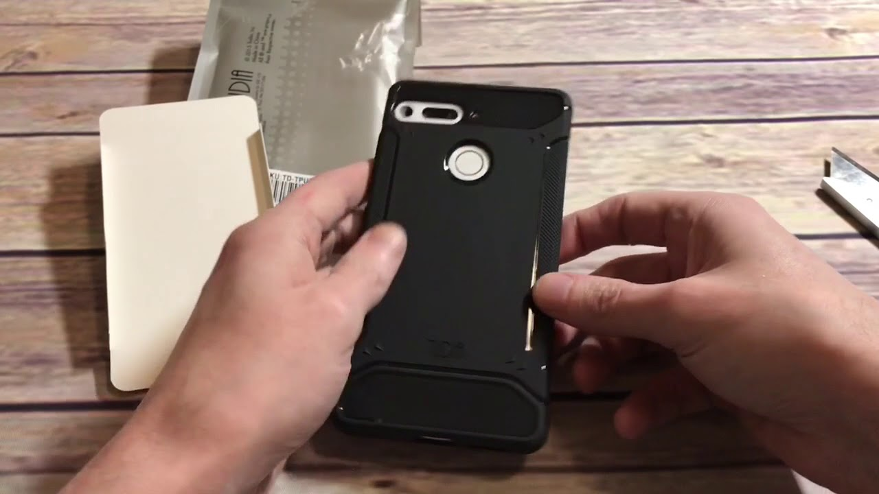 los angeles 766c8 4fe6f Tudia TAMM Case For The Essential Phone Unboxing and Review
