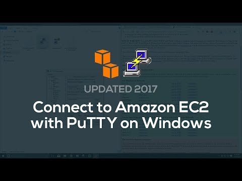How to connect to EC2 w/ PuTTY (Windows) - YouTube