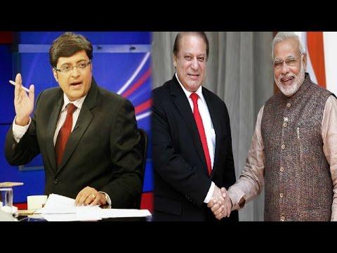 The Newshour  Debate: Nawaz Sharif Vs Narendra Modi - Full Debate (14th August 2014)