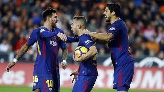 Valencia 1-1 Barcelona || La Liga || All goals & Highlights