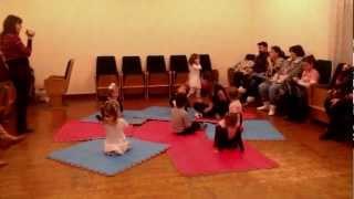 Открытый урок вокала для малышей 3 лет