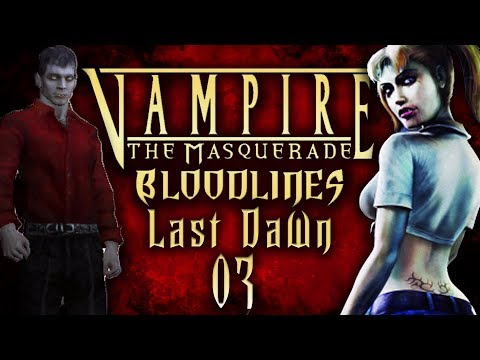 """Lets Roleplay Vampire The Masquerade: Bloodlines Episode  03 """"Mercurio"""" 