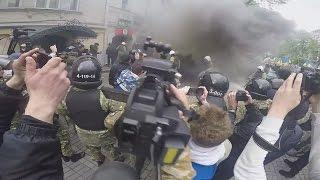 Столкновения, драки на 9 мая 2017 в разных городах Украины