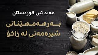 Made In Kurdistan | کارگەی بەرهەمهێنانی شیرەمەنی لە زاخۆ