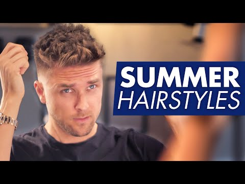 5 summer hairstyles for men
