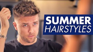 5 summer hairstyles for men - By Vilain Revolution