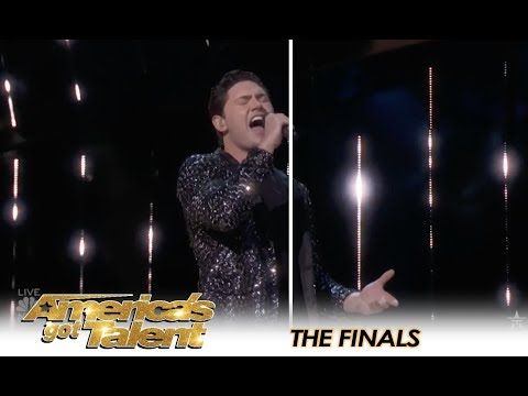 Daniel Emmets PERFECT Italian Opera Rendition Of Ed Sheeran Hit  Americas Got Talent 2018
