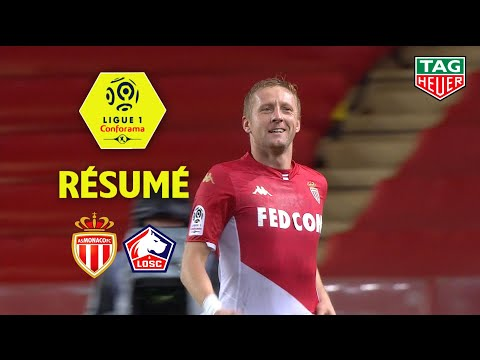 AS Monaco - LOSC ( 5-1 ) - Résumé - (ASM - LOSC) / 2019-20