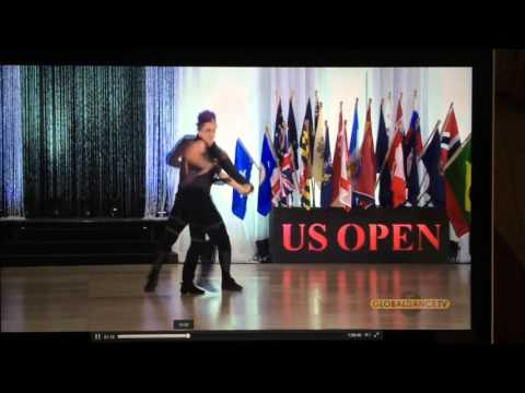 Christopher Dumond and Tara Trafzer US Open Swing Dance Championships 2015