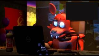 SFM Реакция Фокси на трейлер Five nights at Freddy's 2