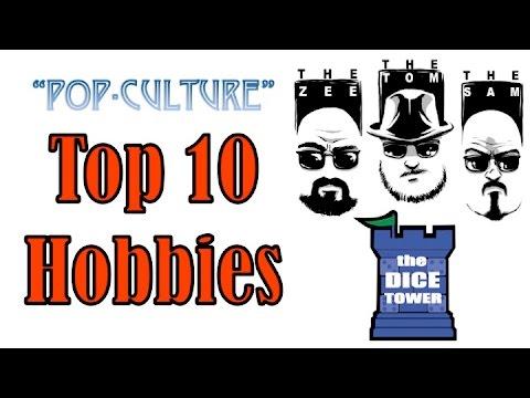 """""""Pop-Culture"""" Top 10 Hobbies"""