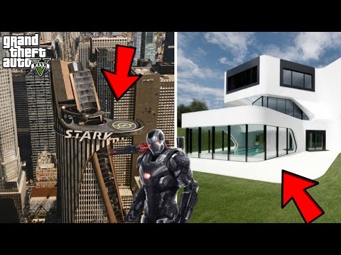 GTA 5 IRON MAN/TONY STARK'S TOWER MOD w/MANSION (GTA 5 Mods)