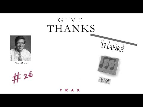 Don Moen- Give Thanks (Instrumental) (Full) (1986)