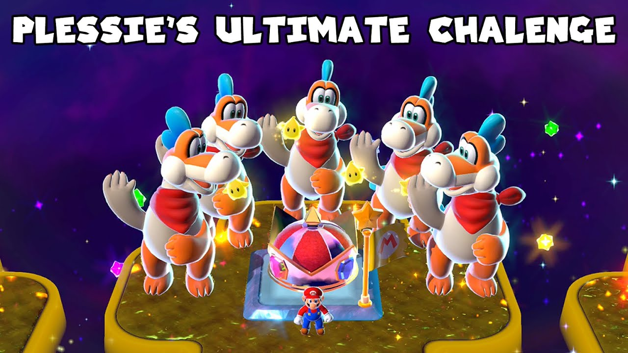 What If Plessie Was in Champion's Road? - Super Mario 3D World
