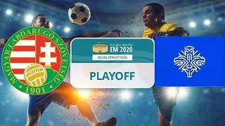 Uefa em 2021 playoffs finale: ungarn vs island