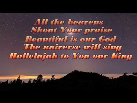 ALL THE HEAVENS Lyrics Video By HILLSONG WORSHIP