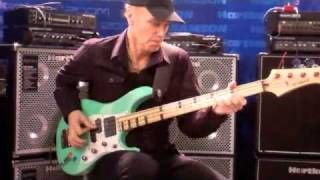 bass musician magazine more billy sheehan from hartke amps at namm 2011