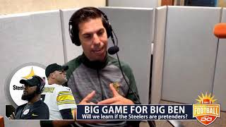 The Steelers need to have a big statement against the Seahawks I D.A. on CBS