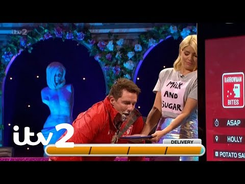 Celebrity Juice | John Barrowman Plays 'Barrowman Bites' | ITV2