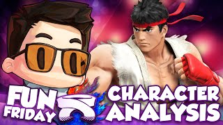 【Character Analysis】Smash 4 Ryu - ZeRo