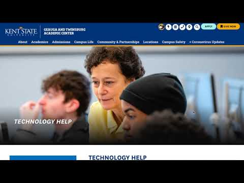 How-To Guide on Technology at Kent State University Geauga and Twinsburg Academic Center