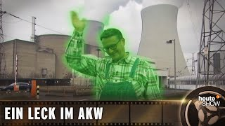 Die Kernkraft ist total sicher! Ralf Kabelka beim Pannen-AKW in Belgien