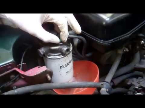Land Rover Defender Diesal sedimentor nrc9708 filtre