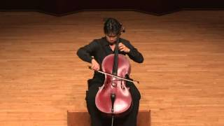 J. S. Bach Cello Suite No.1  Prelude - Allemande