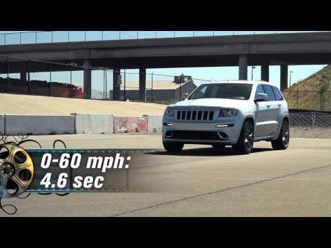 2012 Jeep Grand Cherokee SRT8 - First Test