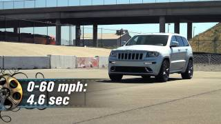 2012 Jeep Grand Cherokee SRT8 - First Test
