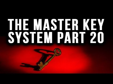 The Master Key System Charles F. Hannel Part 20 Law of Attraction