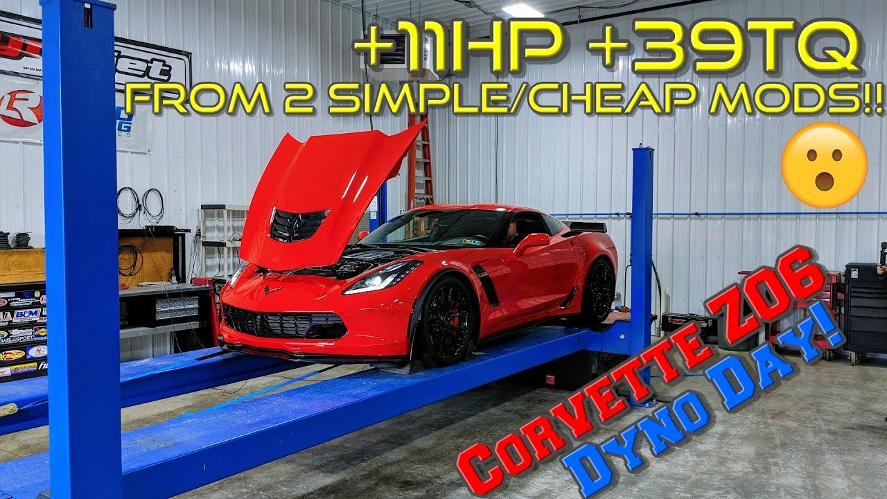 EASY and CHEAP way to boost HORSEPOWER and TORQUE in your C7 Corvette!!