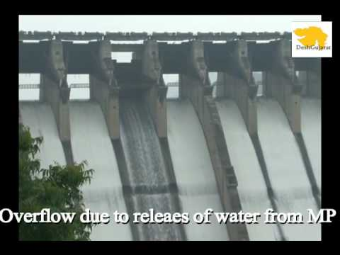 Sardar Sarovar Narmada dam overflows for the first time in this season